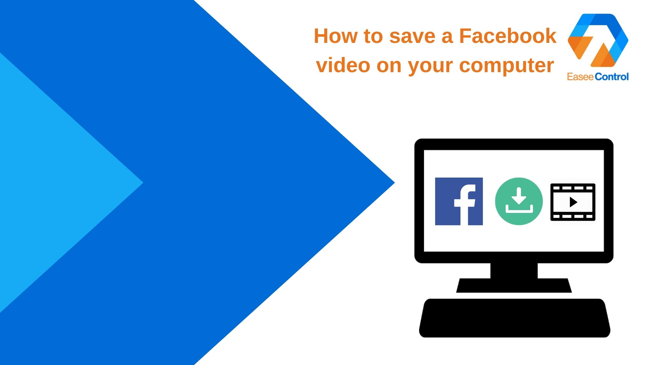 Save video from Facebook on computer